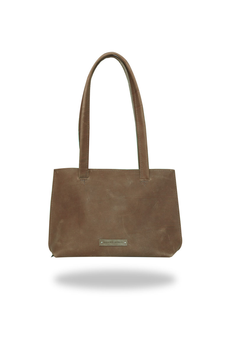 Happy April Product foto's vaste collectie shopper klein bruin_voor